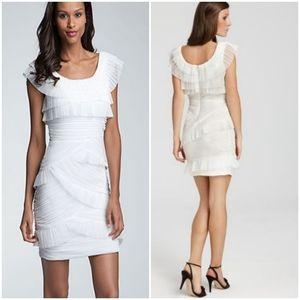 BCBGMaxAzria Briana Ruched Dress, Size 8